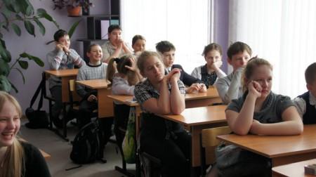 Беседа в школе