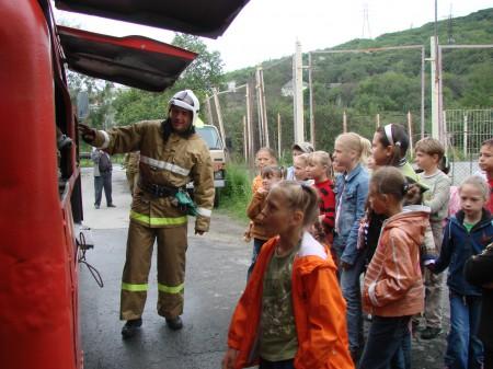 Экскурсия в ПЧ-12 Лето 2015