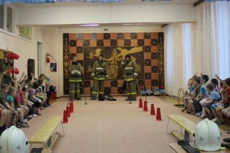 Пожарная эстафета ПЧ-17