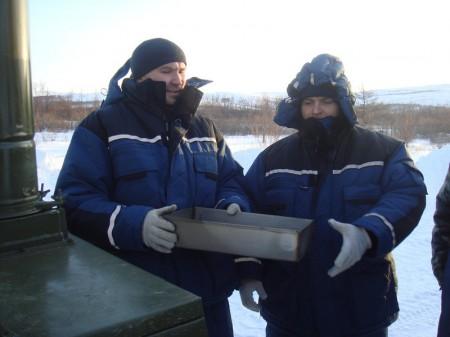 Учения в зимний период
