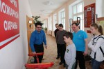 Экскурсия в музей Пожарной охраны СОШ №2