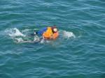 Учения по ликвидации розлива ГСМ на море